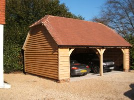 Prichard - Bespoke 2 Bay Garage